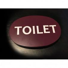 高6x寬9cm_10mm噴漆壓克力上貼卡典-廁所牌